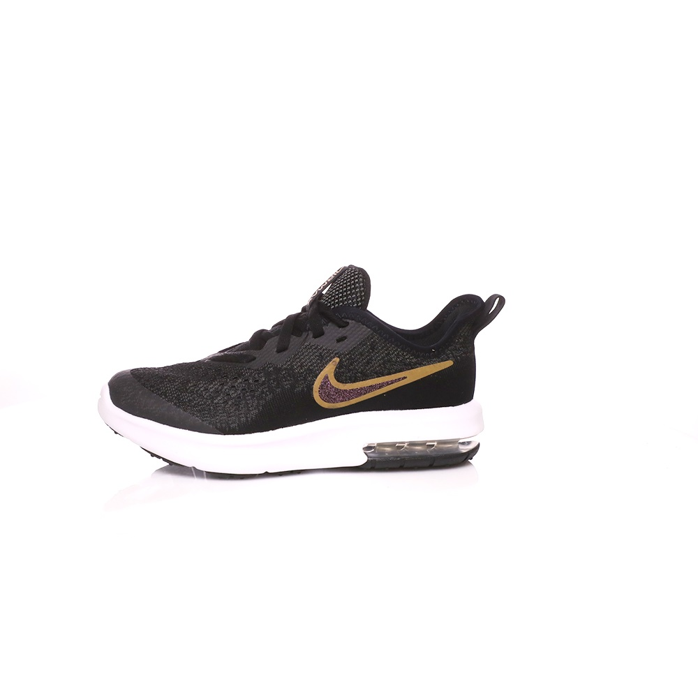 NIKE – Παιδικά παπούτσια NIKE AIR MAX SEQUENT 4 μαύρα