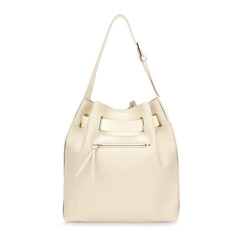 0d2c7bbc79 Γυναικεία μεγάλη τσάντα πουγκί FOLLI FOLLIE εκρού (1676803.0-0000 ...