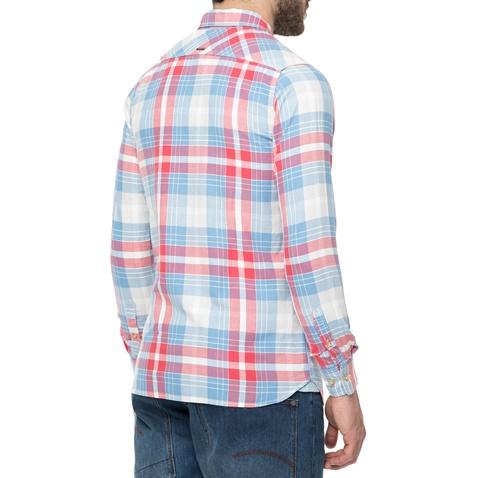 7d769bc654c2 Ανδρικό πουκάμισο FUNKY BUDDHA με καρό μοτίβο (1676826.0-4501 ...
