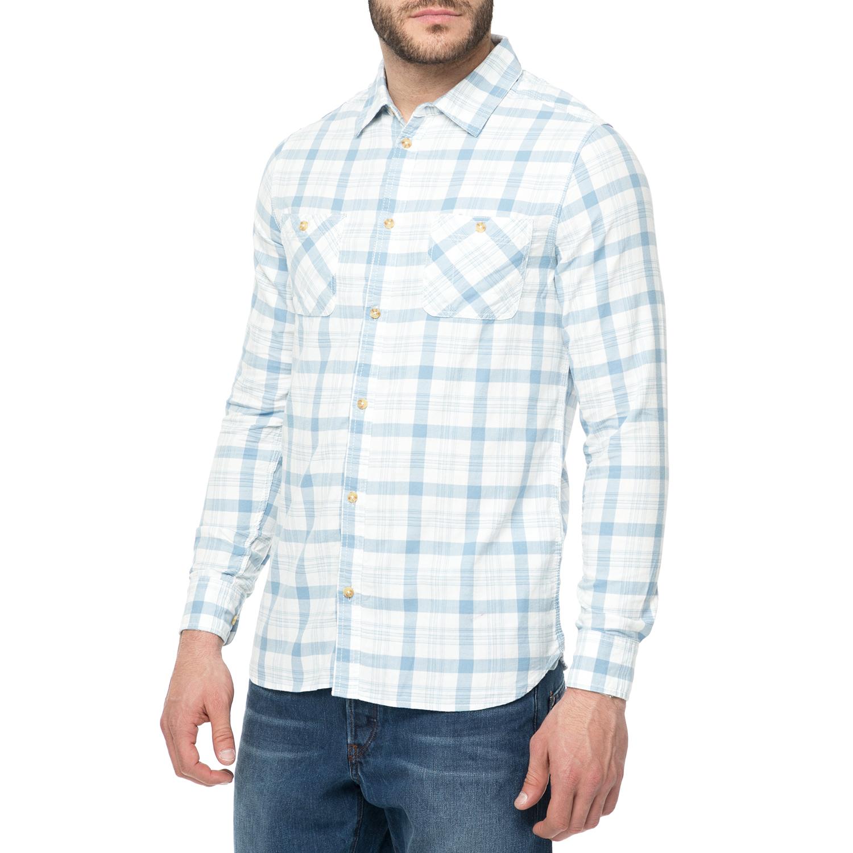 8011c5016fb3 FUNKY BUDDHA - Ανδρικό πουκάμισο FUNKY BUDDHA με καρό μοτίβο