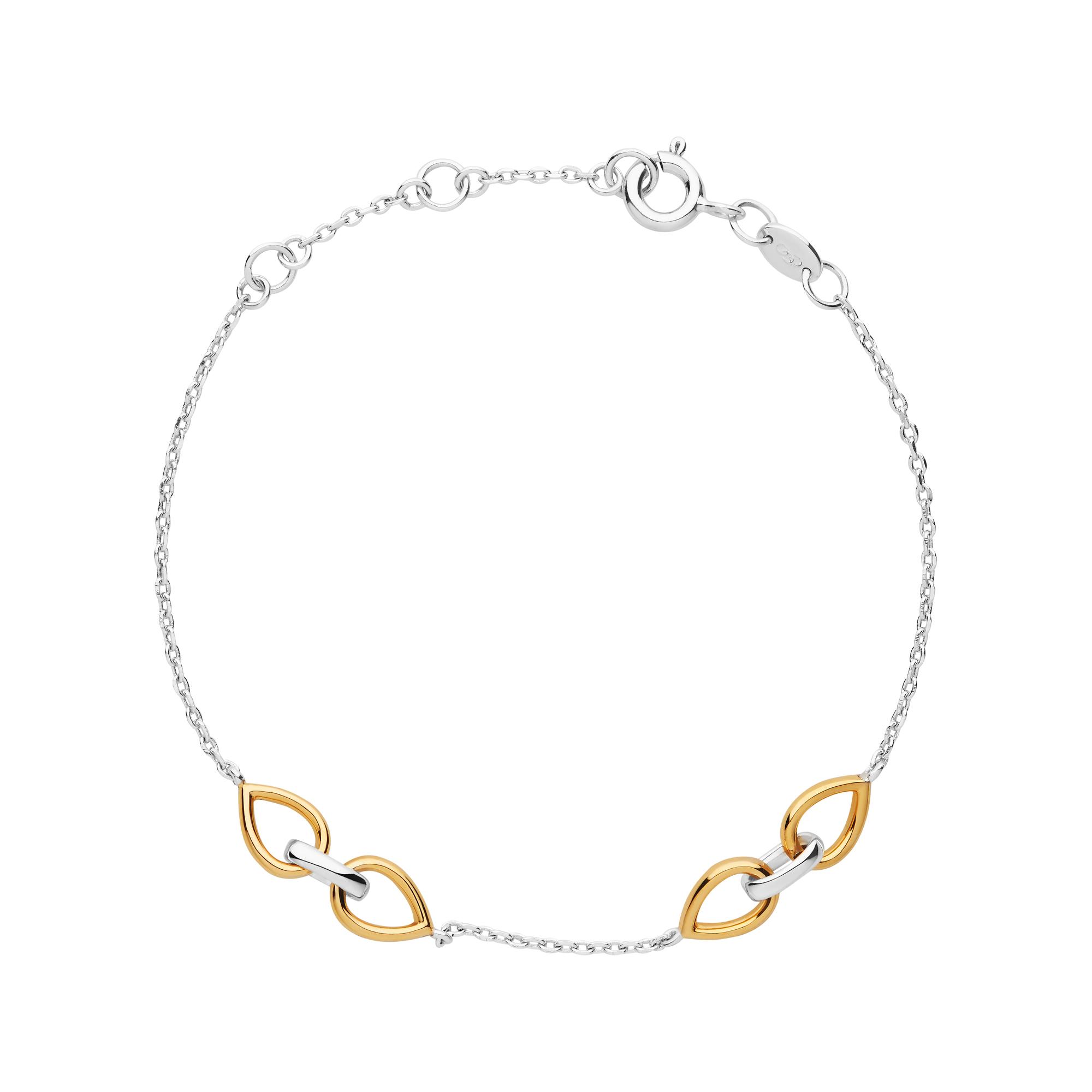 LINKS OF LONDON - Ασημένιο βραχιόλι Outlet Flare γυναικεία αξεσουάρ κοσμήματα βραχιόλια