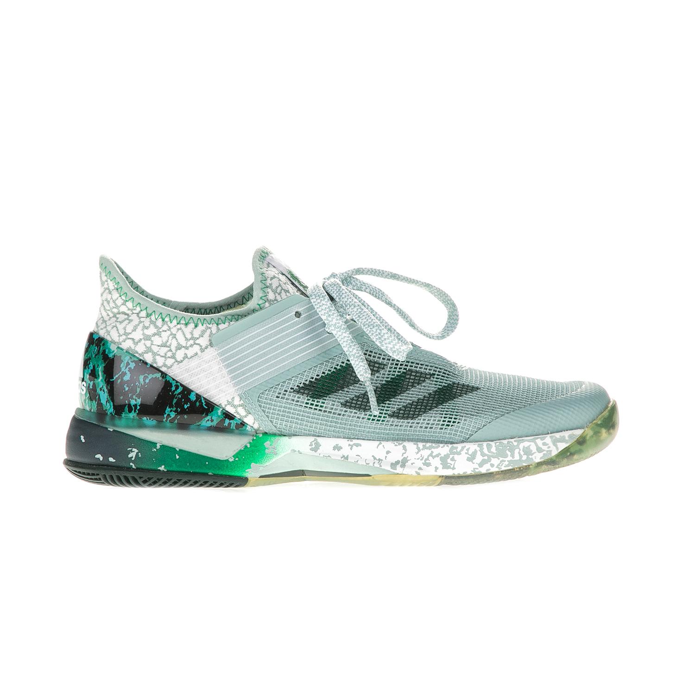 adidas Performance – Γυναικεία παπούτσια τένις adizero ubersonic 3 γκρι-πράσινα