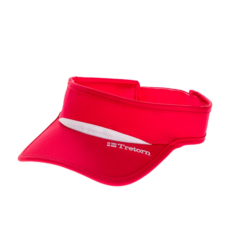 TRETORN - Γυναικείο καπέλο τένις TRETORN VISOR φούξια γυναικεία αξεσουάρ καπέλα αθλητικά