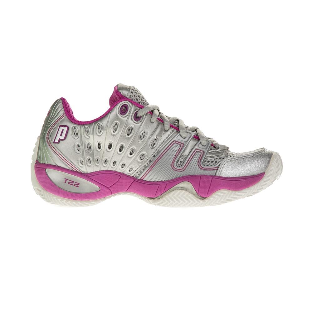 PRINCE - Γυναικεία παπούτσια τένις PRINCE T22 ασημί γυναικεία παπούτσια αθλητικά tennis