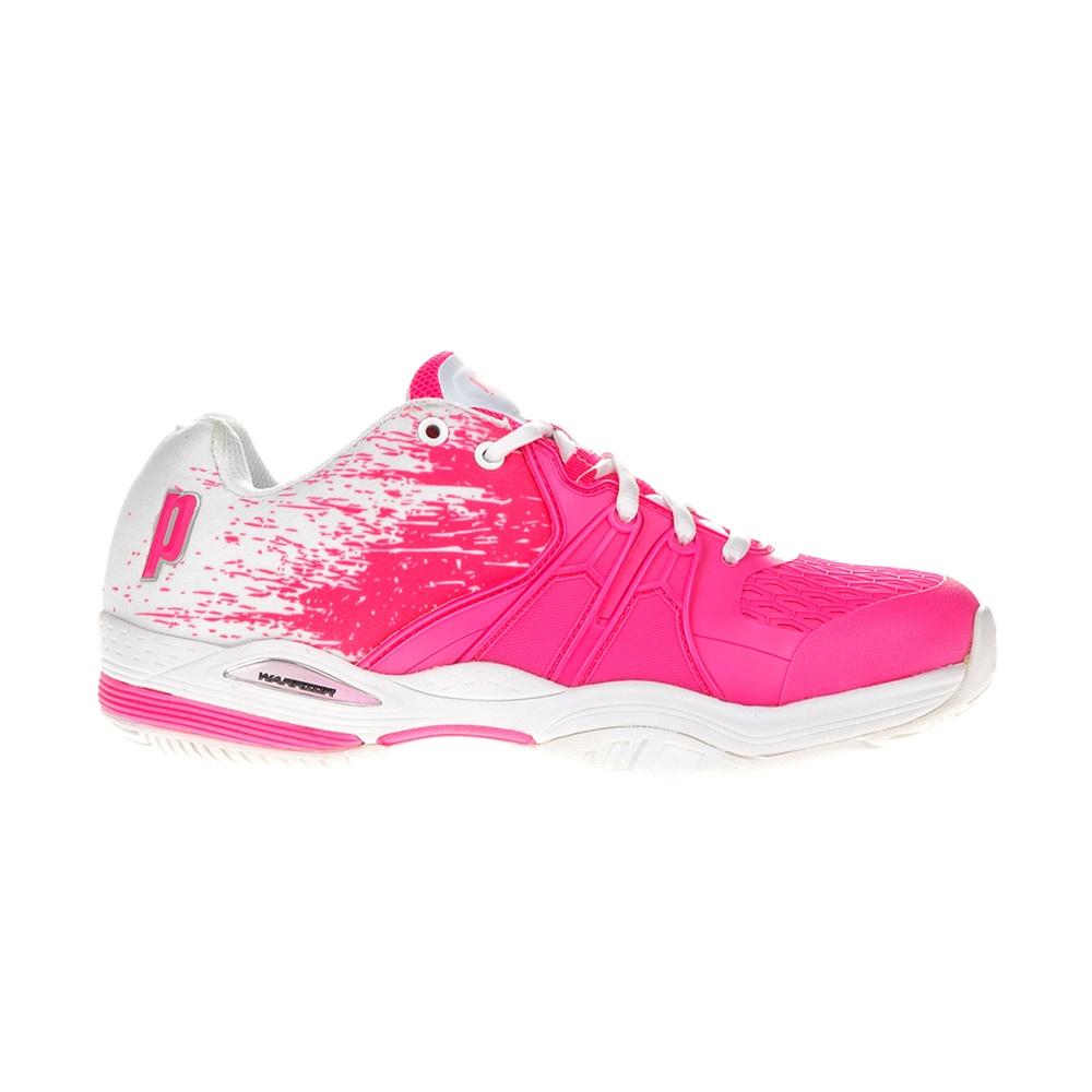 PRINCE - Γυναικεία παπούτσια τέννις ωWarrior Lite λευκά-ροζ γυναικεία παπούτσια αθλητικά tennis