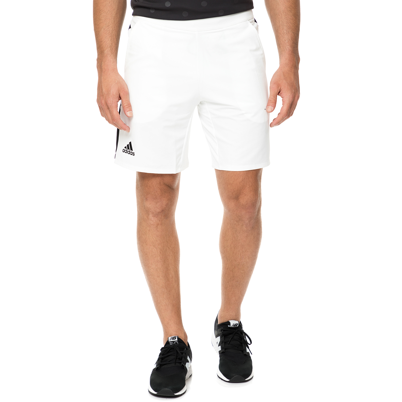 adidas performance - Aνδρικό αθλητικό τεννιστικό σορτς adidas performance λευκό ανδρικά ρούχα σορτς βερμούδες αθλητικά