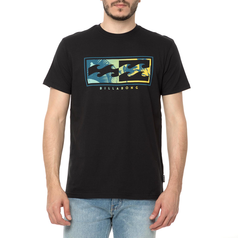 BILLABONG - Ανδρικό t-shirt BILLABONG μαύρο με στάμπα summer sales are on έως  80