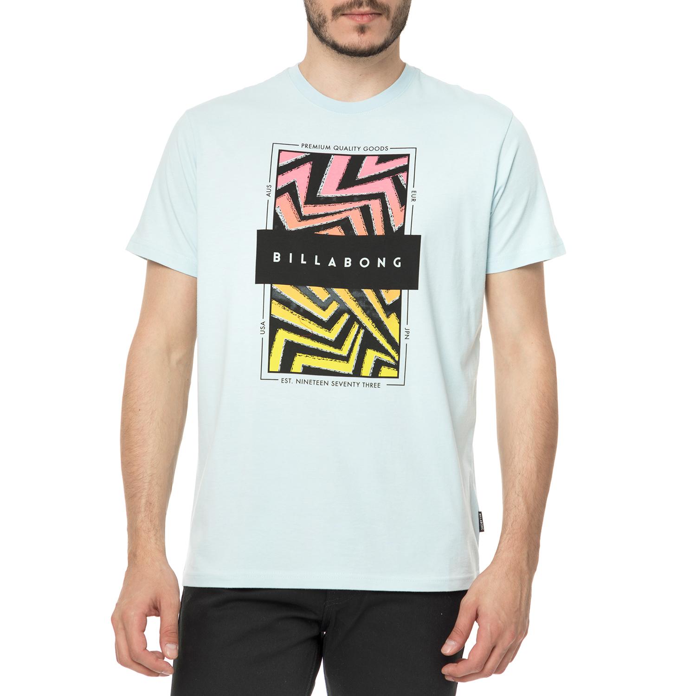 ed047a0a07ef BILLABONG – Ανδρικό t-shirt BILLABONG LOCKED IN γαλάζιο με στάμπα ...