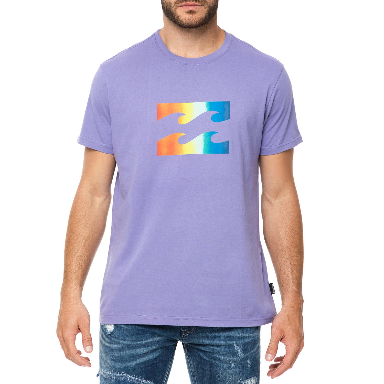 BILLABONG - Ανδρικό t-shirt BILLABONG TEAM WAVE μοβ με στάμπα