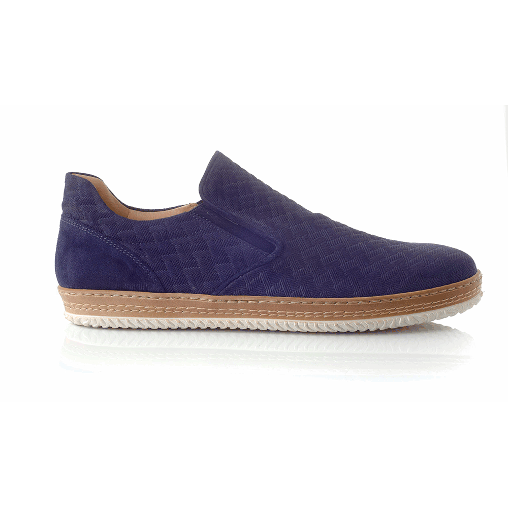 CHANIOTAKIS – Ανδρικά παπούτσια ADRIANO μπλε