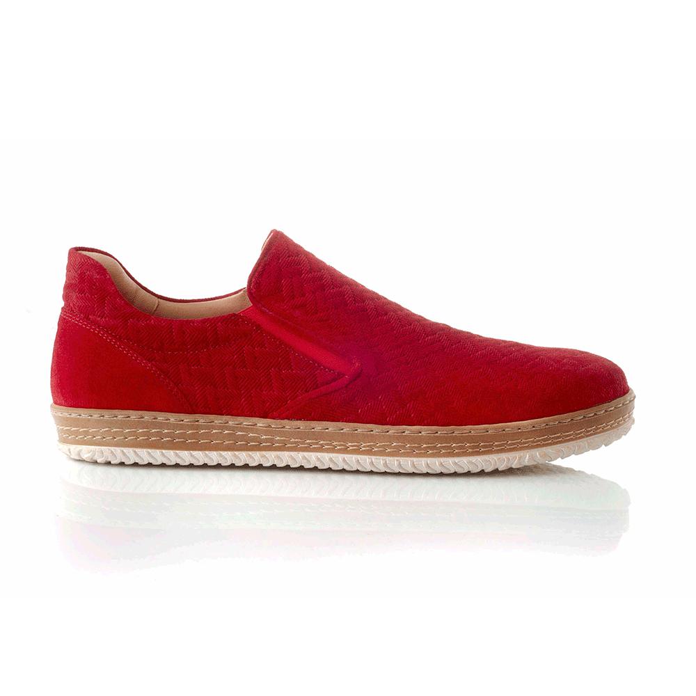 CHANIOTAKIS – Ανδρικά παπούτσια ADRIANO κόκκινα