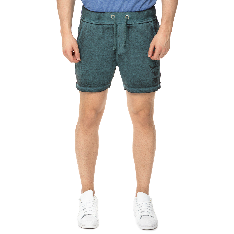 BODY TALK - Ανδρικό σορτς VISIONARY BODYTALK μπλε ανδρικά ρούχα σορτς βερμούδες αθλητικά