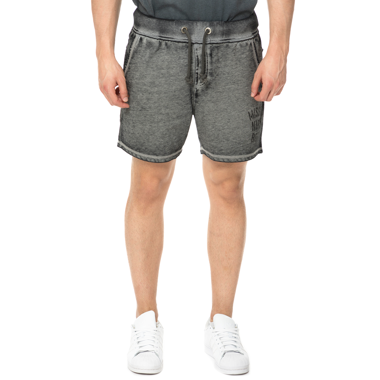 BODYTALK - Ανδρικό σορτς VISIONARY BODYTALK γκρι ανδρικά ρούχα σορτς βερμούδες αθλητικά