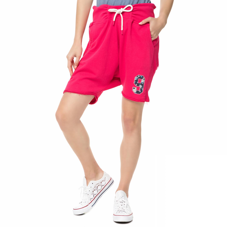 BODYTALK - Γυναικεία αθλητική βερμούδα SPACEW φούξια γυναικεία ρούχα σορτς βερμούδες αθλητικά