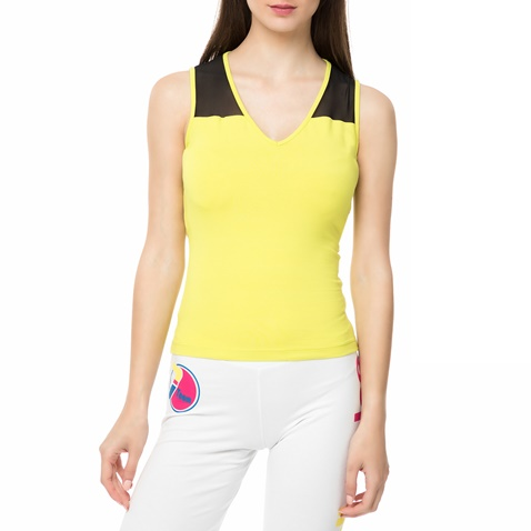 546d89a5547b Γυναικεία αμάνικη μπλούζα WAGW κίτρινη - BODYTALK (1678967.0-9s09 ...