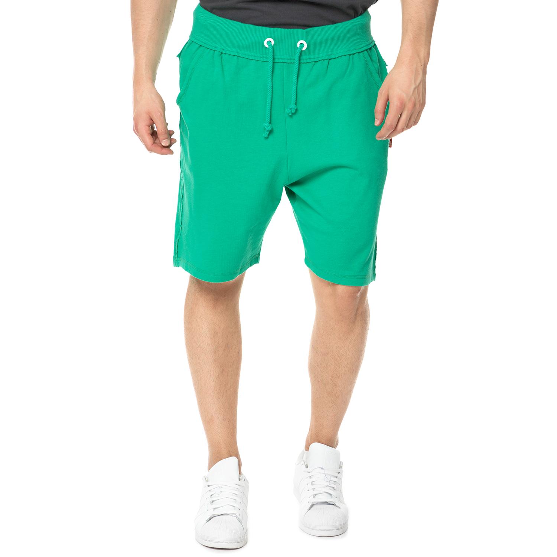 BODYTALK - Ανδρική βερμούδα BODYTALK TRAINING FOR LIFE πράσινη ανδρικά ρούχα σορτς βερμούδες αθλητικά