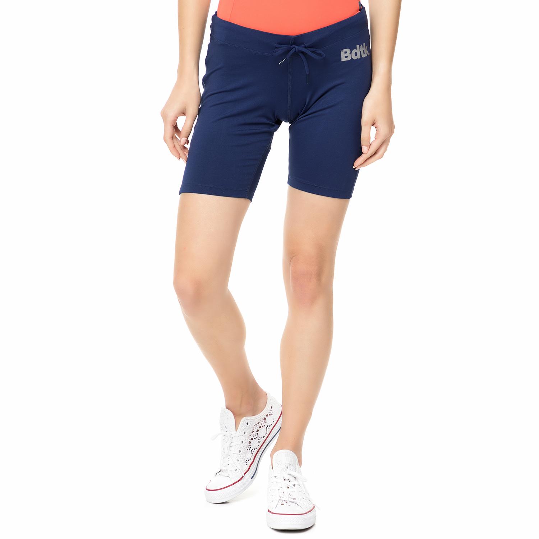 BODYTALK - Γυναικεία αθλητική βερμούδα TECHW TIGHTS 2/4 μπλε γυναικεία ρούχα σορτς βερμούδες αθλητικά
