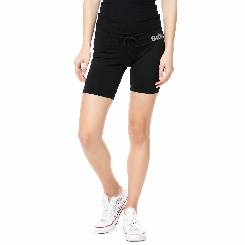 BODYTALK - Γυναικεία αθλητική βερμούδα TECHW TIGHTS 2/4 μαύρη γυναικεία ρούχα σορτς βερμούδες αθλητικά