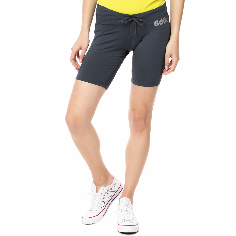 BODYTALK - Γυναικεία αθλητική βερμούδα TECHW TIGHTS 2/4 ανθρακί γυναικεία ρούχα σορτς βερμούδες αθλητικά