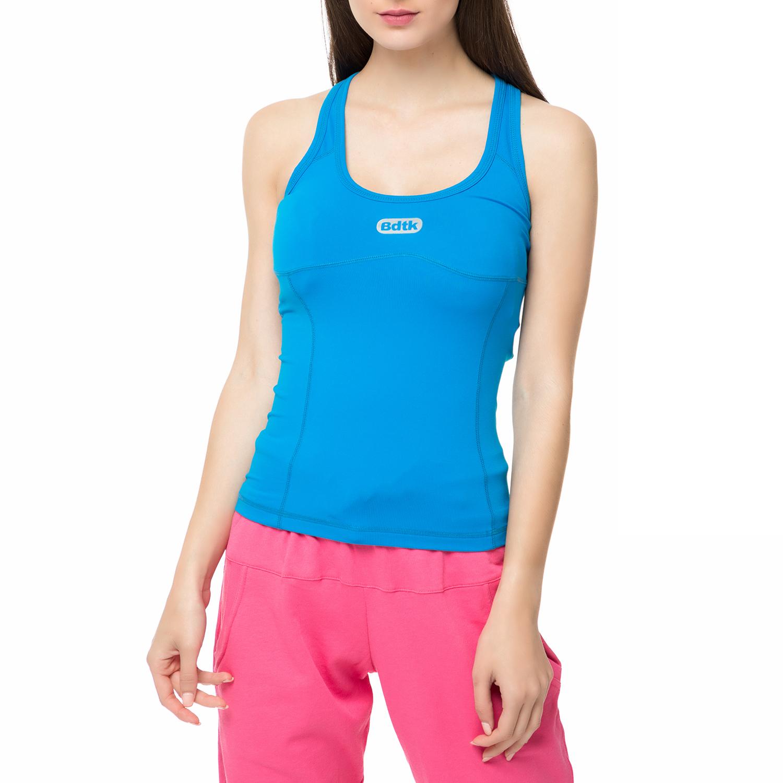 e07ae018d357 BODYTALK – Γυναικεία αμάνικη μπλούζα SHAPEW μπλε. Factory Outlet
