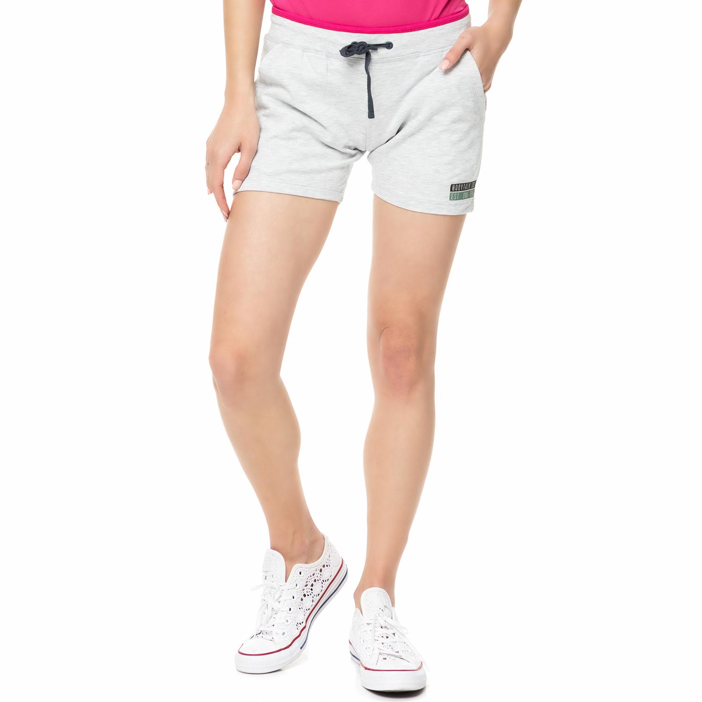 BODYTALK - Γυναικείο αθλητικό σορτς CONVINCEW ανοιχτό γκρι γυναικεία ρούχα σορτς βερμούδες αθλητικά