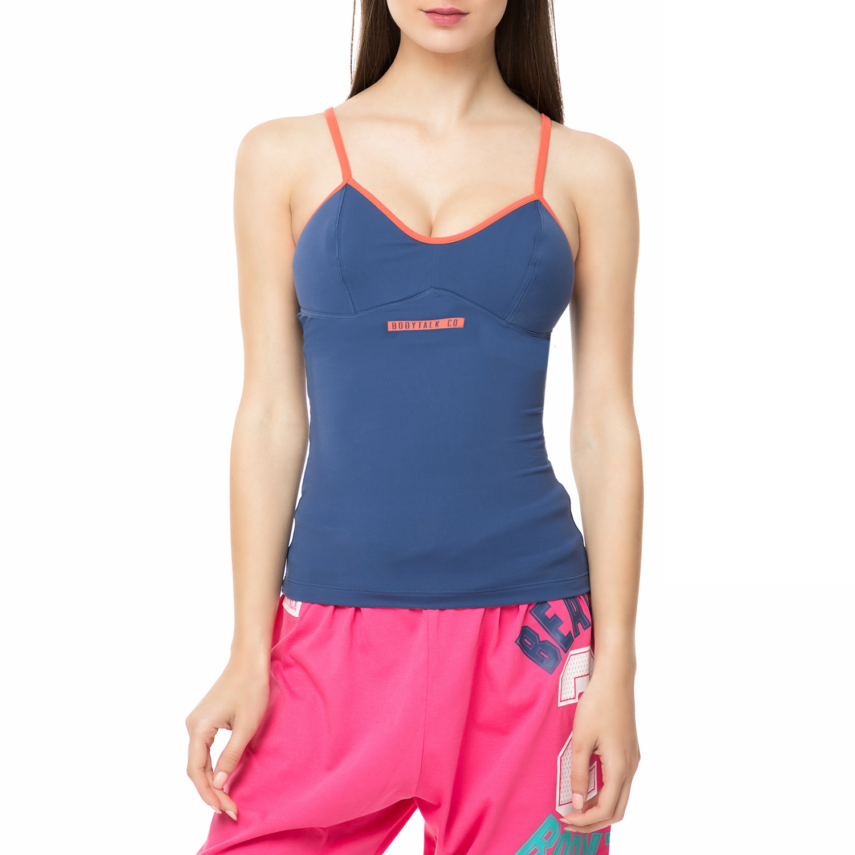 BODYTALK - Γυναικεία μπλούζα CONVINCEW μπλε γυναικεία ρούχα αθλητικά t shirt τοπ