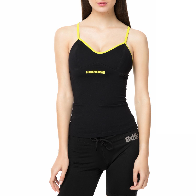 BODYTALK - Γυναικεία μπλούζα CONVINCEW μαύρη γυναικεία ρούχα αθλητικά t shirt τοπ