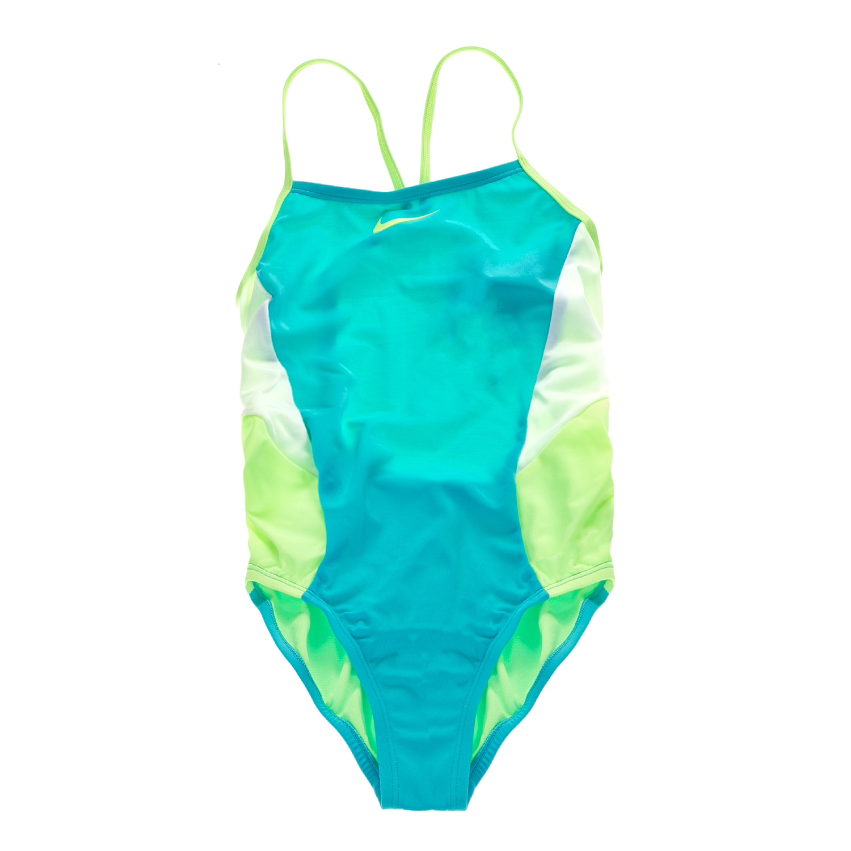 f3a03790c10 NIKE SWIMWEAR – Παιδικό ολόσωμο μαγιό V-BACK NIKE SWIMWEAR πράσινο-κίτρινο