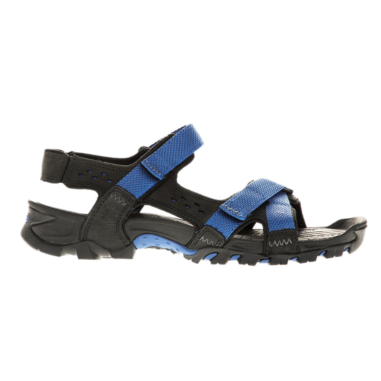 TIMBERLAND - Ανδρικά πέδιλα TIMBERLAND ELDRIDGE μπλε-μαύρα ανδρικά παπούτσια πέδιλα