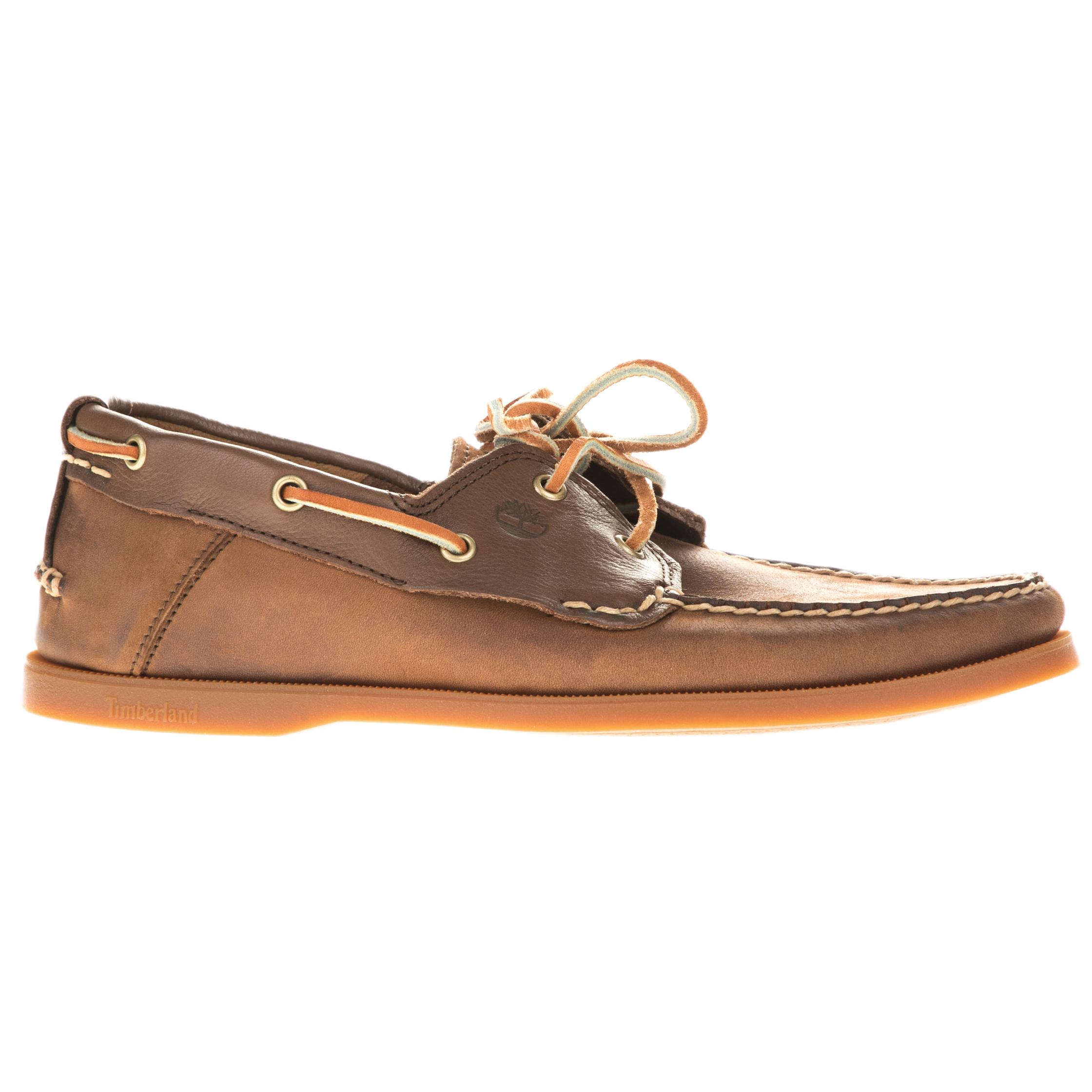 TIMBERLAND - Ανδρικά boat shoes TIMBERLAND 6306A CLASSIC TWO EYE καφέ ανδρικά παπούτσια boat shoes