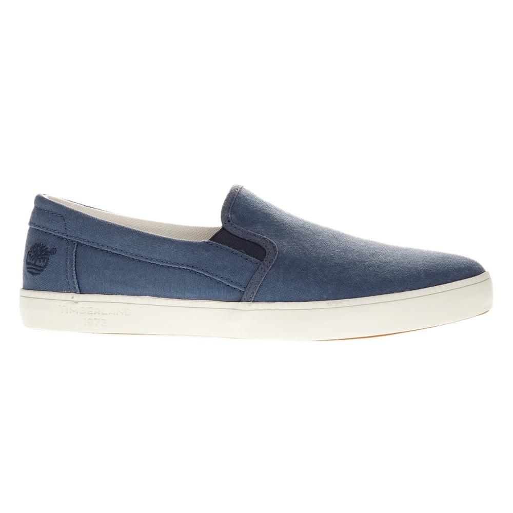 TIMBERLAND – Ανδρικά slip-on παπούτσια TIMBERLAND A16EP μπλε