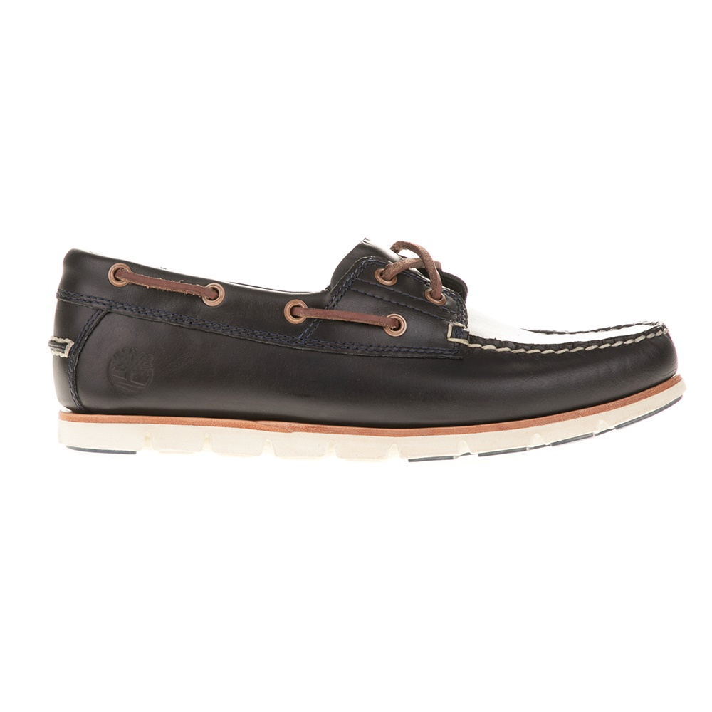 TIMBERLAND – Ανδρικά boat shoes TIMBERLAND A1BBU μαύρα