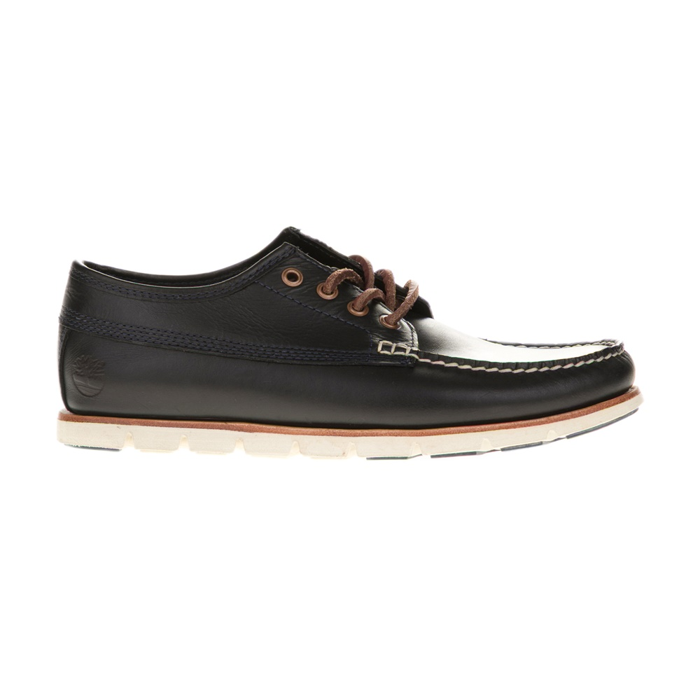 TIMBERLAND - Ανδρικά boat shoes TIMBERLAND A1BHA μαύρα ανδρικά παπούτσια boat shoes