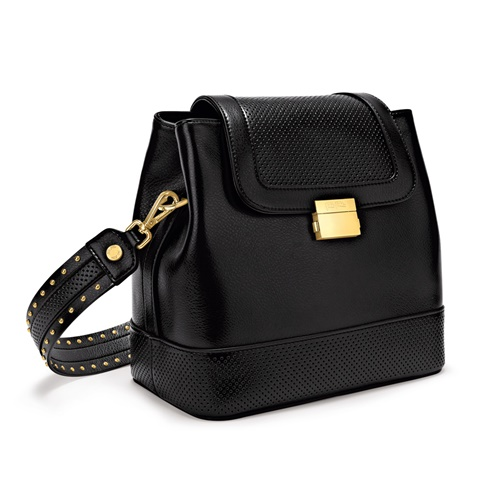 8c3198fedc Γυναικεία τσάντα FOLLI FOLLIE ON THE DOT μαύρη (1679592.0-0000 ...