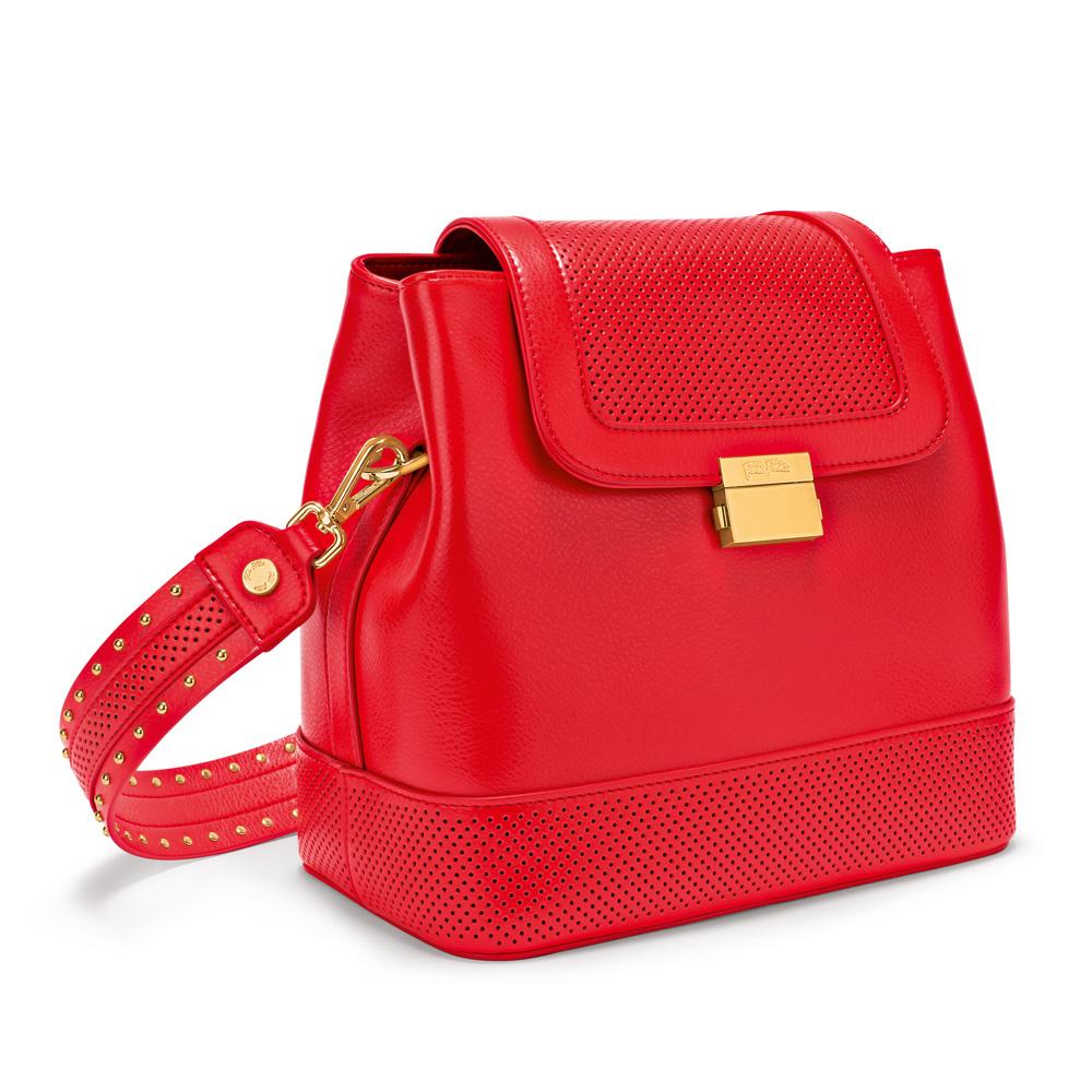 9710546eb6c FOLLI FOLLIE - Γυναικεία τσάντα FOLLI FOLLIE ON THE DOT κόκκινη ...