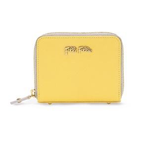 005c986db3 FOLLI FOLLIE. Γυναικείο πορτοφόλι με φερμουάρ FOLLI FOLLIE κίτρινο