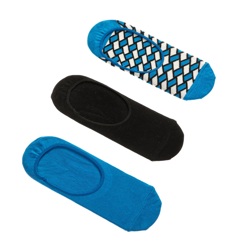 HAPPY SOCKS - Unisex σετ κάλτσες BASKET 3 ζευγάρια γυναικεία αξεσουάρ κάλτσες