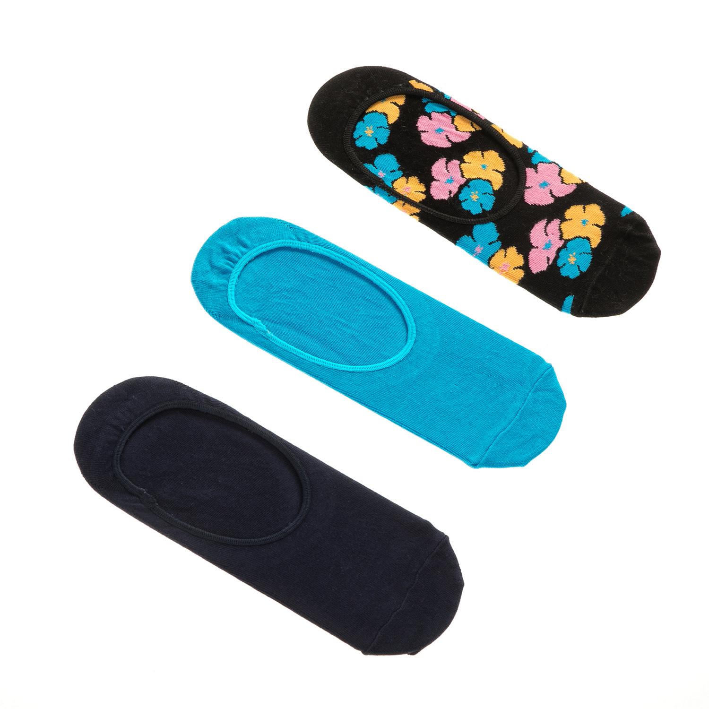 HAPPY SOCKS - Unisex σετ κάλτσες KIMONO 3 ζευγάρια γυναικεία αξεσουάρ κάλτσες