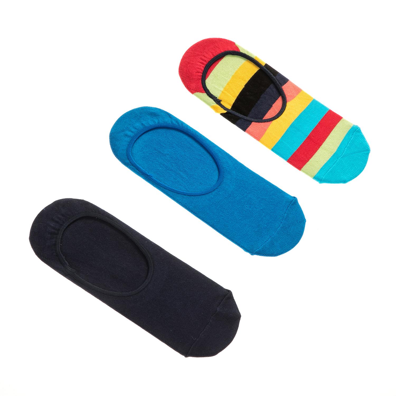 HAPPY SOCKS - Unisex σετ κάλτσες STRIPE 3 ζευγάρια γυναικεία αξεσουάρ κάλτσες