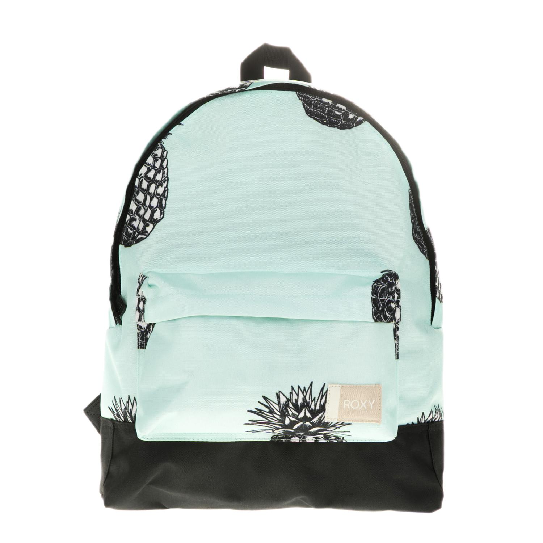 ROXY – Γυναικεία τσάντα πλάτης ROXY SUGAR BABY γαλάζια με σχέδιο 1680061.0-0017