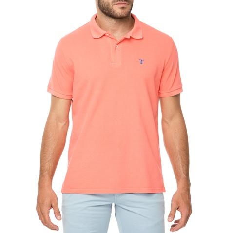 01729ea6465 Ανδρικό polo t-shirt HAMPTONS σομόν (1680158.0-00o3) | Factory Outlet
