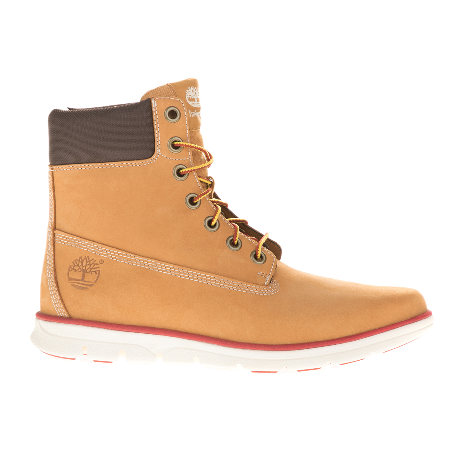 d85390f927b9 TIMBERLAND - Ανδρικά μποτάκια TIMBERLAND BRADSTREET 6 IN κίτρινα