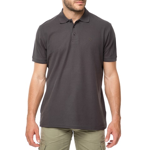 72e20e361c52 Ανδρικό πόλο t-shirt BATTERY ανθρακί (1680917.0-0080)