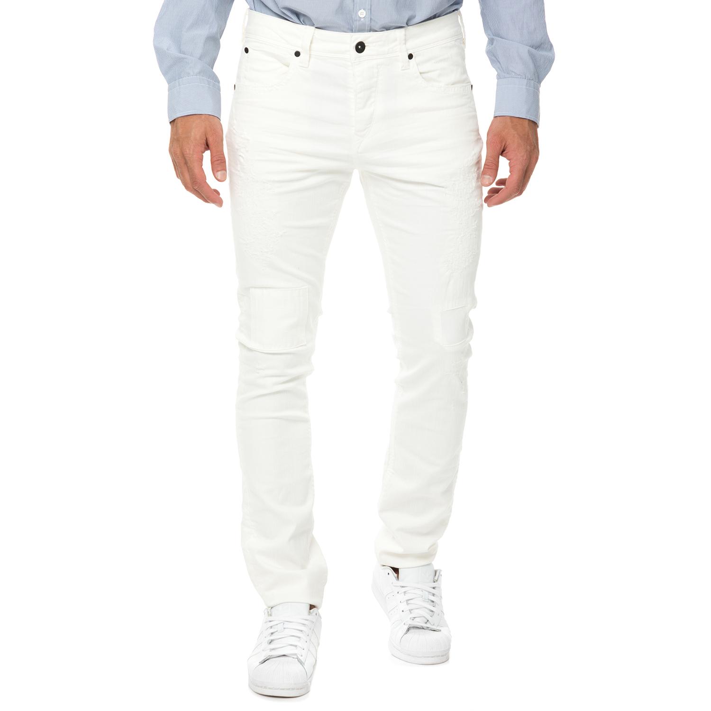 DEVERGO JEANS - Ανδρικό τζιν παντελόνι DEVERGO JEANS λευκό c7de48c5edd