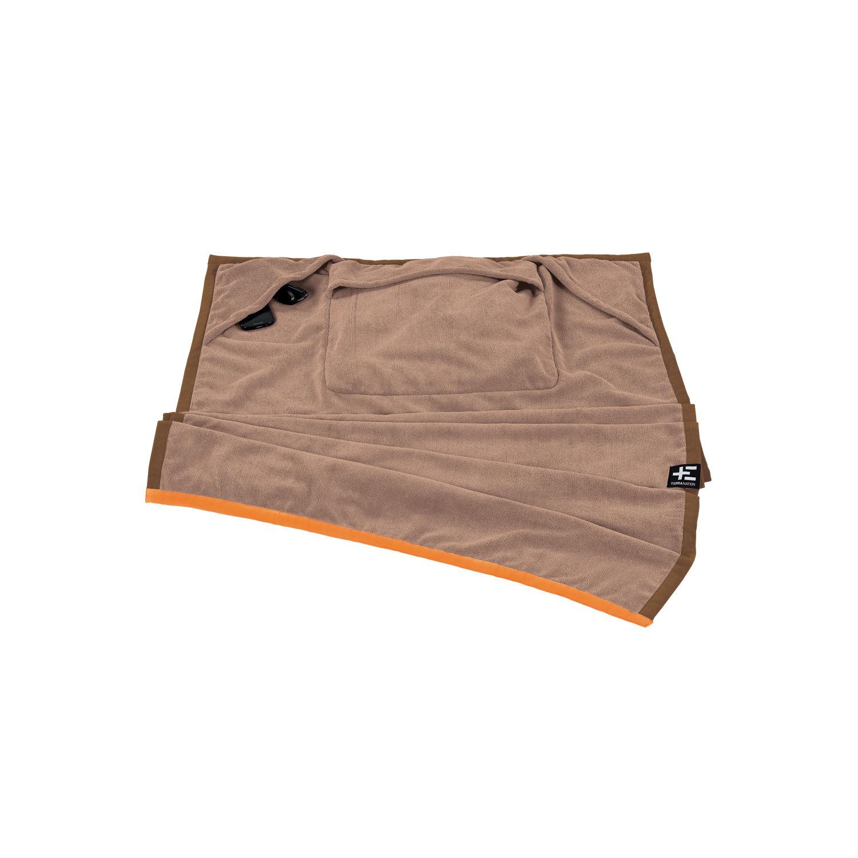 TERRA NATION - Πετσέτα θαλάσσης ONE MOE καφέ γυναικεία αξεσουάρ εξοπλισμός παραλίας πετσέτες