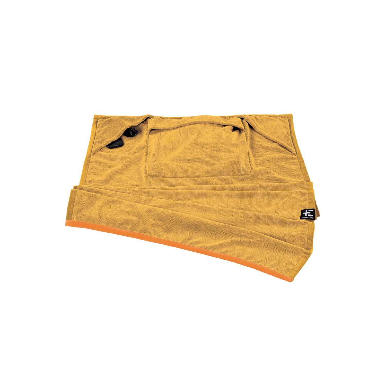 TERRA NATION - Πετσέτα θαλάσσης ONE MOE κίτρινη γυναικεία αξεσουάρ εξοπλισμός παραλίας πετσέτες