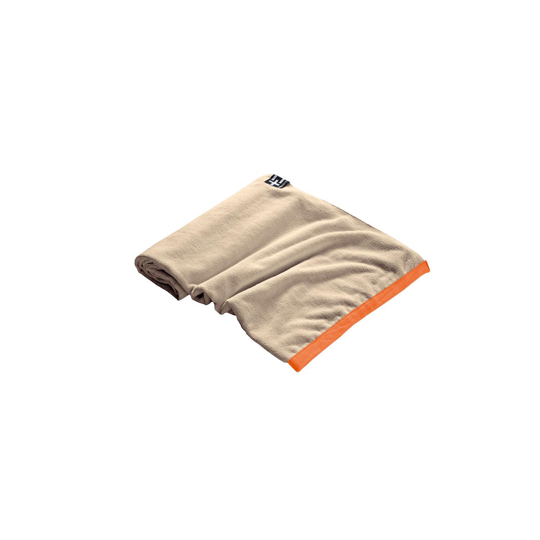 TERRA NATION - Πετσέτα θαλάσσης AGI MOE μπεζ γυναικεία αξεσουάρ εξοπλισμός παραλίας πετσέτες