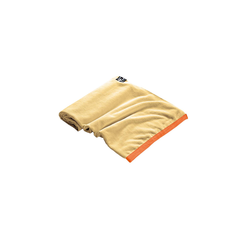 TERRA NATION - Πετσέτα θαλάσσης AGI MOE κίτρινη γυναικεία αξεσουάρ εξοπλισμός παραλίας πετσέτες
