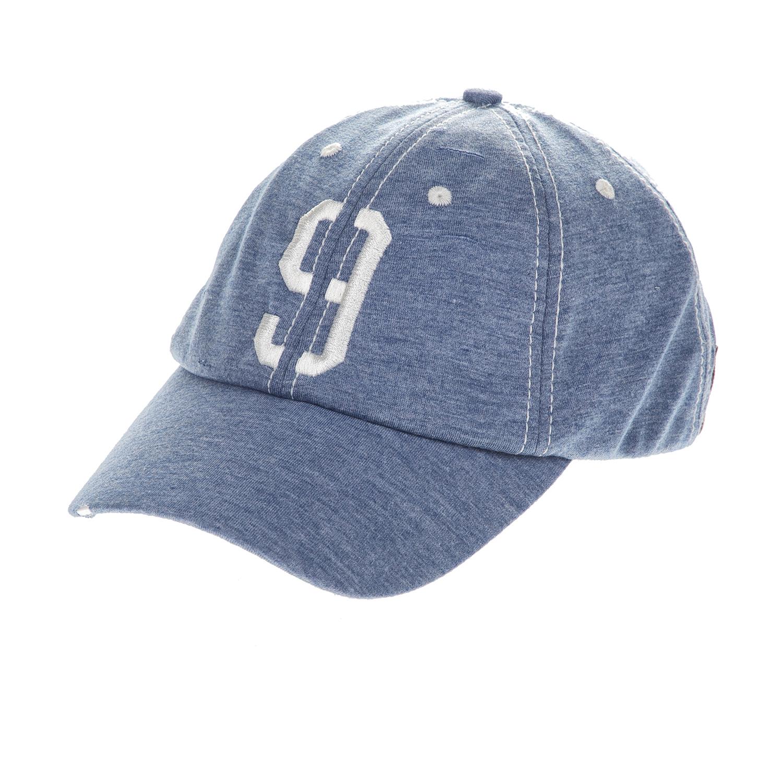 BODYTALK - Unisex καπέλο jockey BODYTALK μπλε μελανζέ ανδρικά αξεσουάρ καπέλα casual