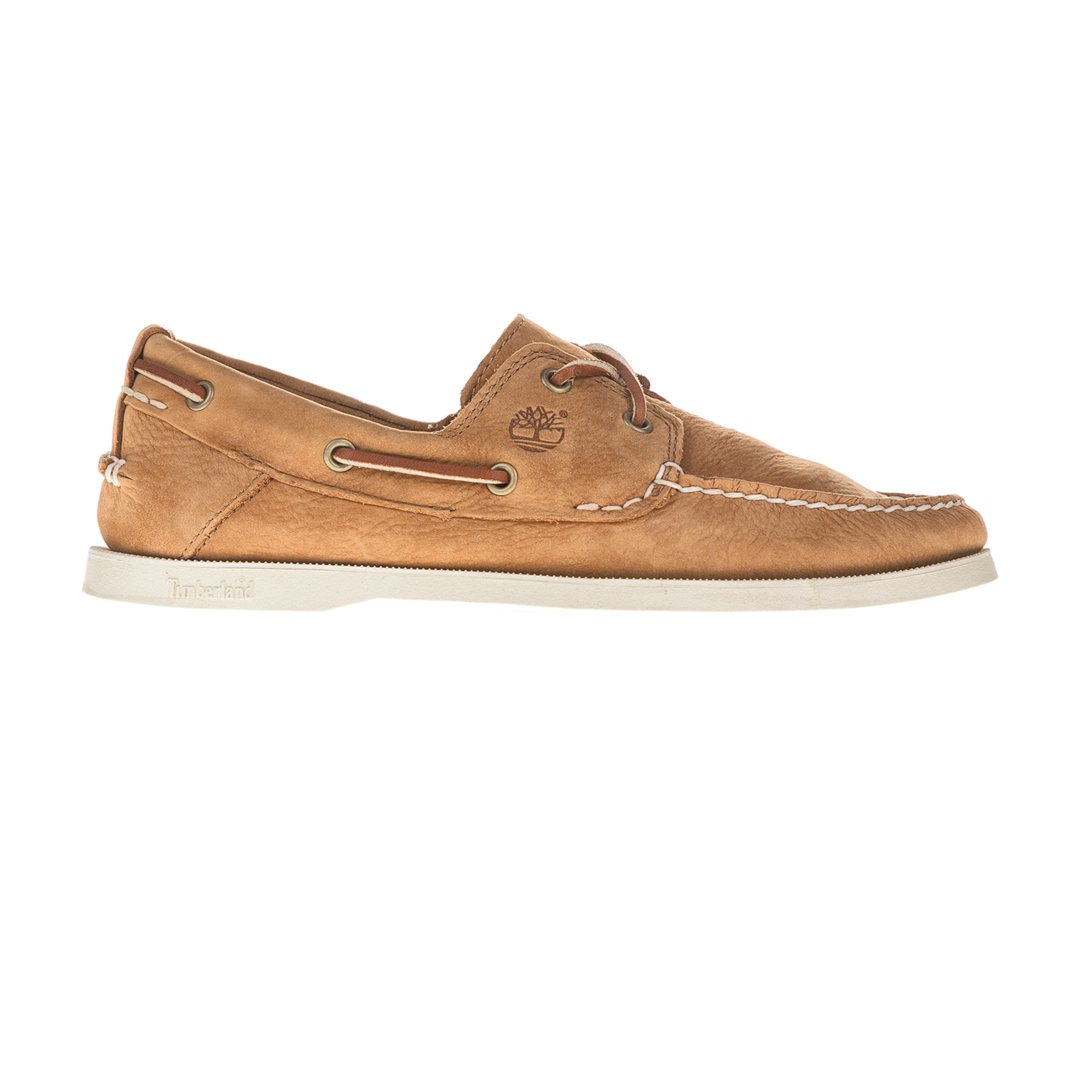 TIMBERLAND - Ανδρικά boat shoes TIMBERLAND CLASSIC 2 EYE καφέ ανδρικά παπούτσια boat shoes